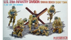 U.S. 29th INFANTRY DIVISION OMAHA BEACH D-DAY 1944
