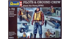PILOTS & GROUND CREW  ROYAL AIR FORCE WWII