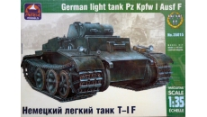 PzKpfw I Ausf F  German light tank   (T-1 F)