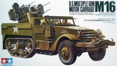 U.S.MULTIPLE GUN  M16  MOTOR CARRIAGE