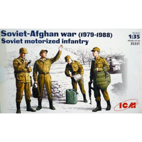 SOVIET MOTORIZED INFANTRY  Soviet-Afghan war (1979-1988)