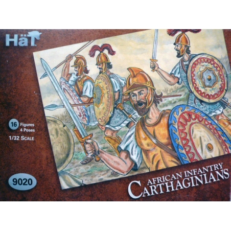 AFRICAN INFANTRY  CARTHAGINIANS