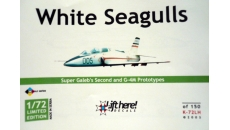 WHTE SEAGULLS  SUPER GALEB and G-4M PROTOTYPES