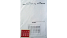 REMOVE BEFORE FLIGHT FLAGS -  WHITE LETTERING