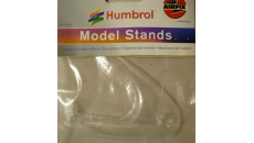clear plastic aircarft display stand  (medium)