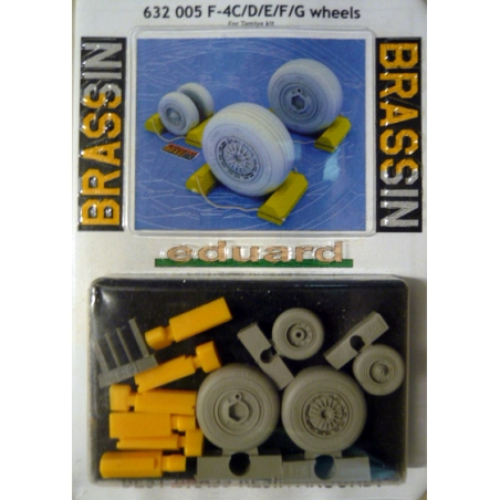 F-4C/D/E/F/G  WHEELS     recommended kit TAMIYA