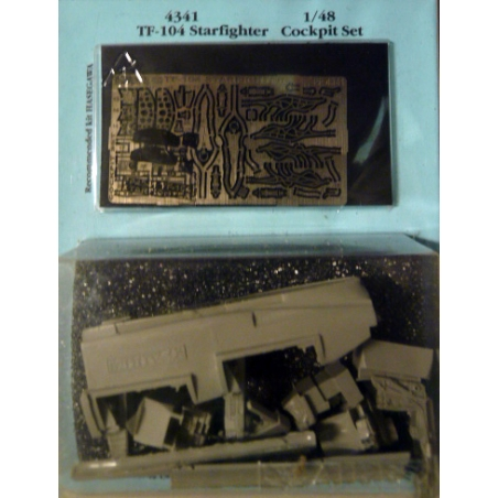 TF-104 STARFGHTER  COCKPIT SET   recommended kit HASEGAWA