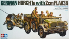 GERMAN HORCH 1a with 2cm FLAK38