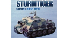 STURMTIGER GERMANY MARCH 1945