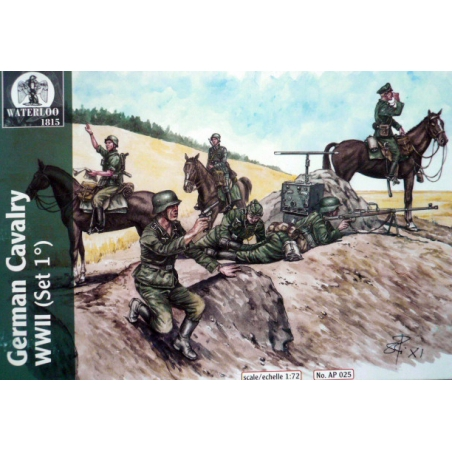 GERMAN CAVALRY WWII (SET 1)