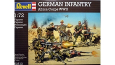 GERMAN INFANTRY  AFRICA CORPS WWII