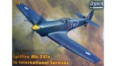 SPITFIRE MK.XVIe IN INTERNATIONAL SERVICES