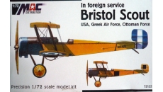 BRISTOL SCOUT  IN FOREING SERVICE