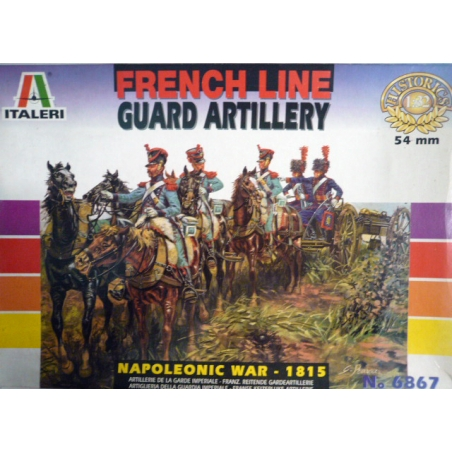 FRENCH LINE GUARD ARTILLERY