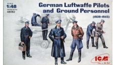 German Luftwaffe Pilots and Ground Personnel