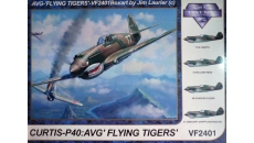 CURTIS-P40 : AVG '' FLYING TIGERS''-