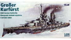 GROBER KURFURST  WWI German Battleship